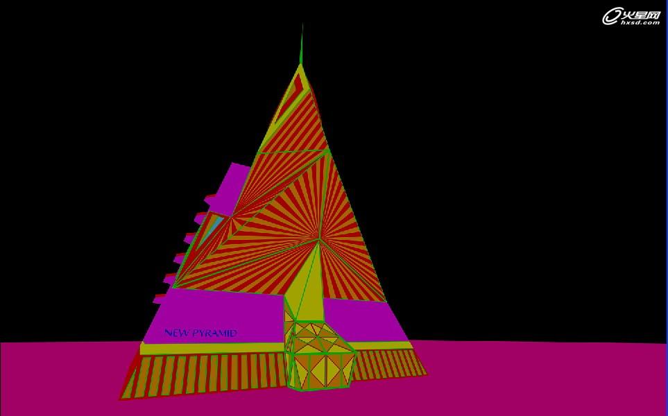 特约教程:金字塔建筑方案表现方法详解