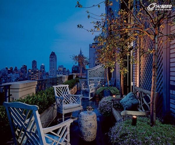 城市空中花园 楼顶景观绿化实景图