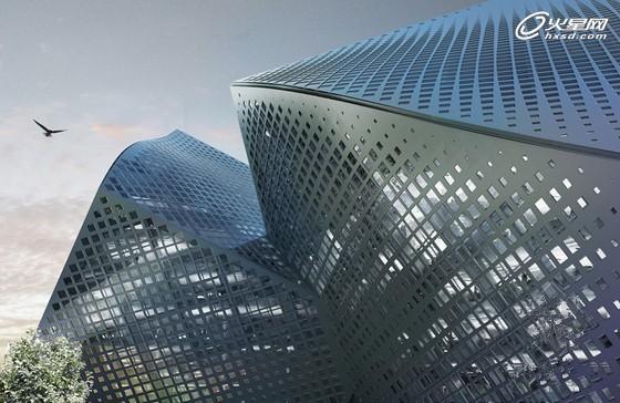 概念几何体!圣迪奥总部项目建筑设计