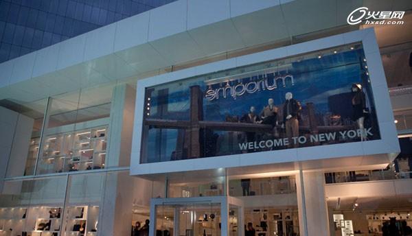 阿塞拜疆emporium概念店橱窗展示设计