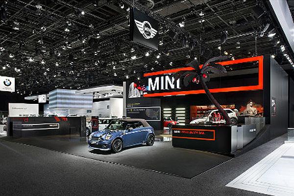 车展mini展厅设计