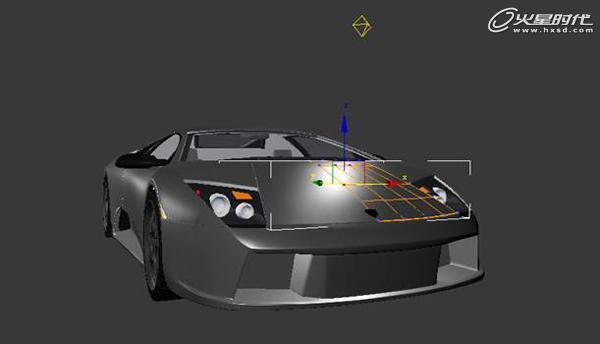 兰博基尼》汽车模型制作