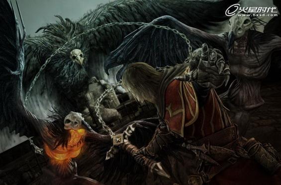 《恶魔城:暗影之王》封面及设定图公布