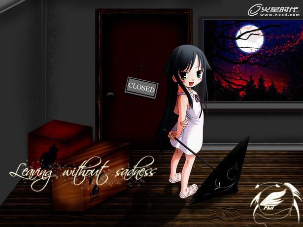 18禁恐怖游戏《沙耶之歌》美女同人画集