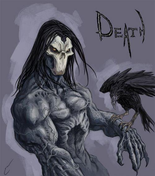 杀气十足!玩家绘制《暗黑血统2》死神面具