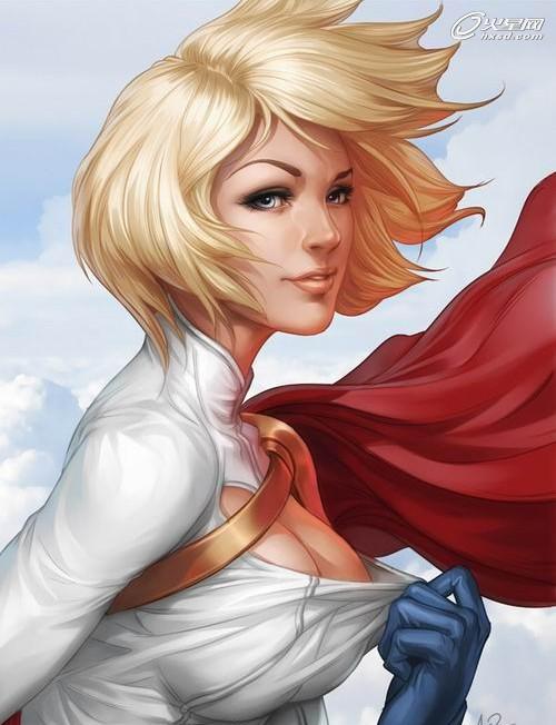 审美不同?美宅最爱的30位性感漫画女英雄 火