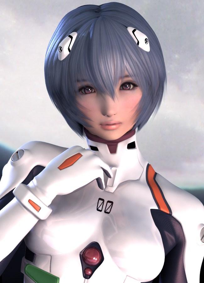 建模境界!日本超性感游戏美女3d同人cg