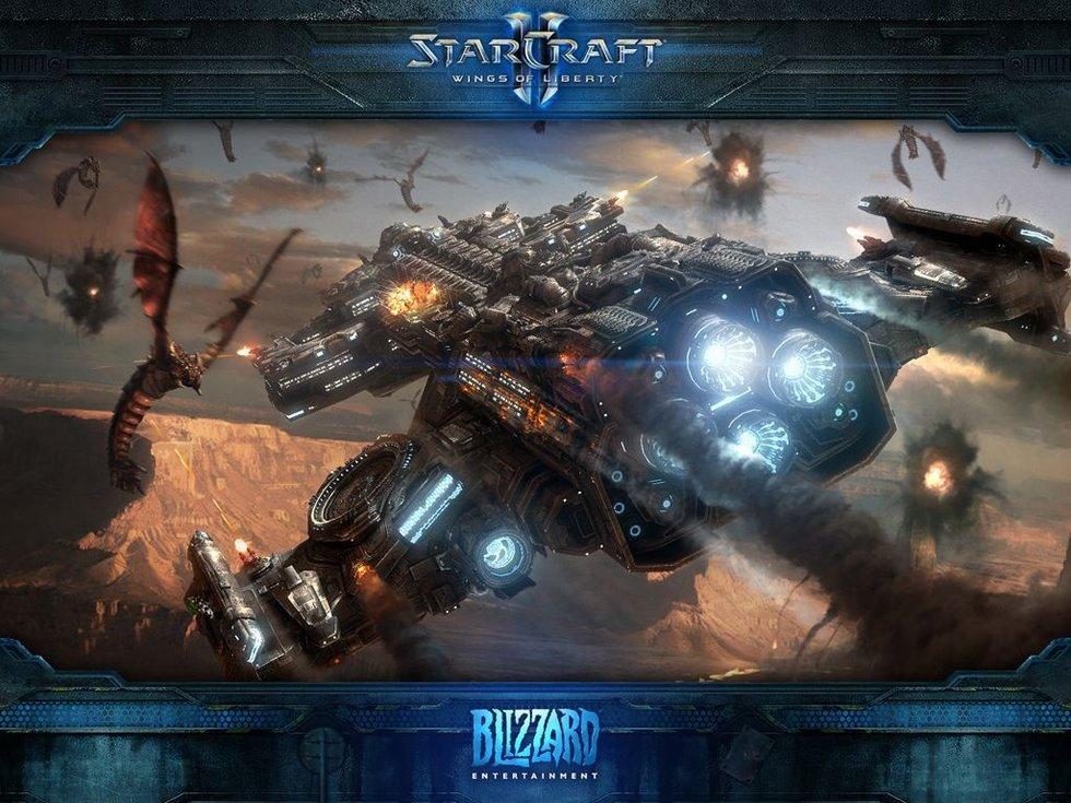 《星际争霸2》官方最新壁纸公布