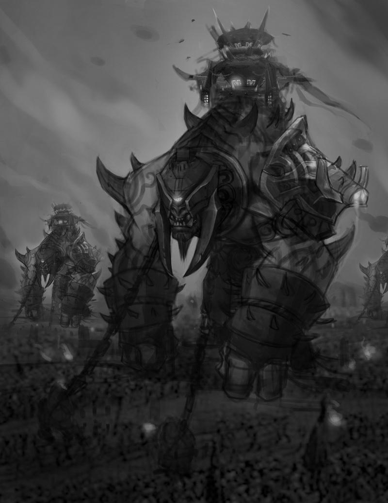 《魔兽世界:德拉诺之王》概念设计原画