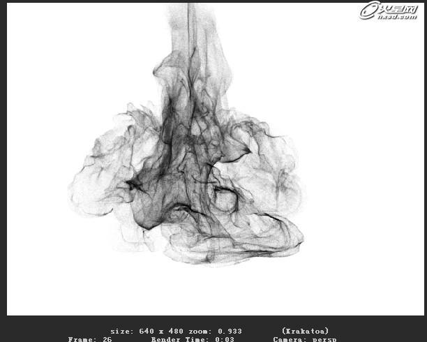 三维技术教程:maya渲染水墨粒子效果教程