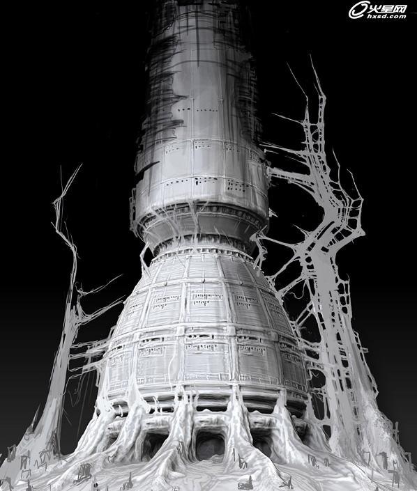 塔模型制作图解