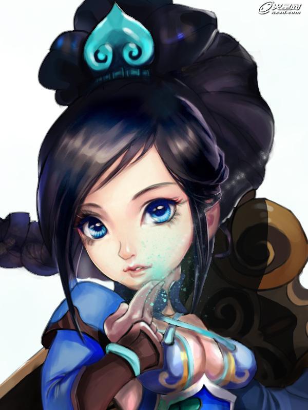 游戏原画教程:q版女剑仙